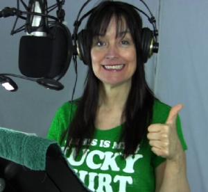 Lori in studio